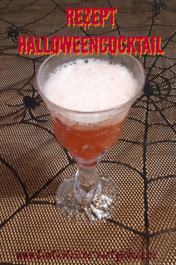 Halloween Cocktail rot