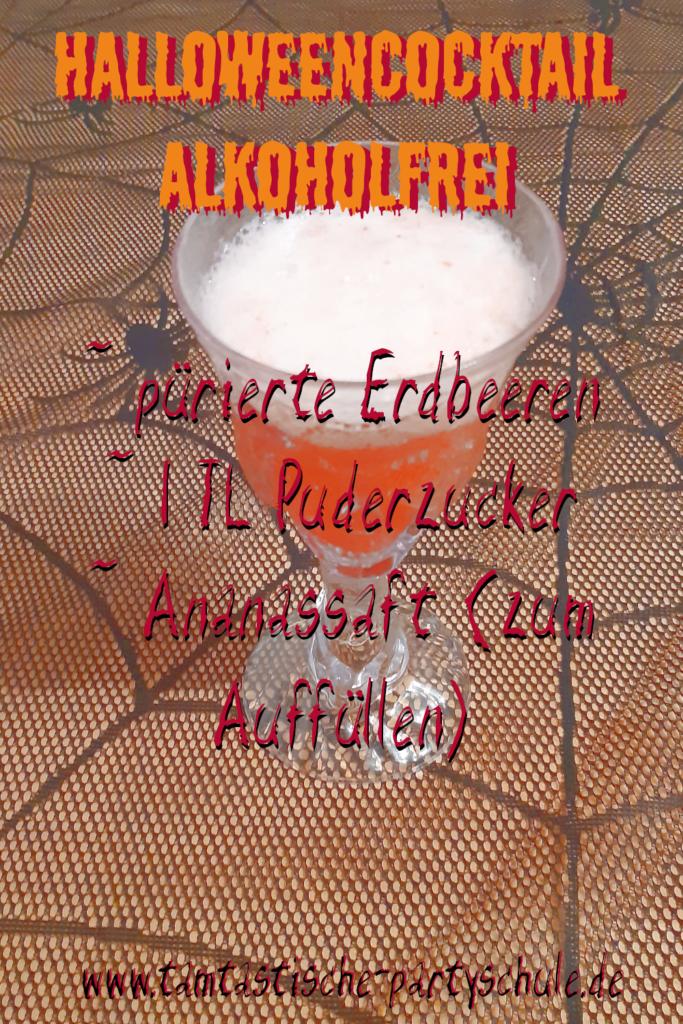 Cocktailrezept Halloween alkoholfrei