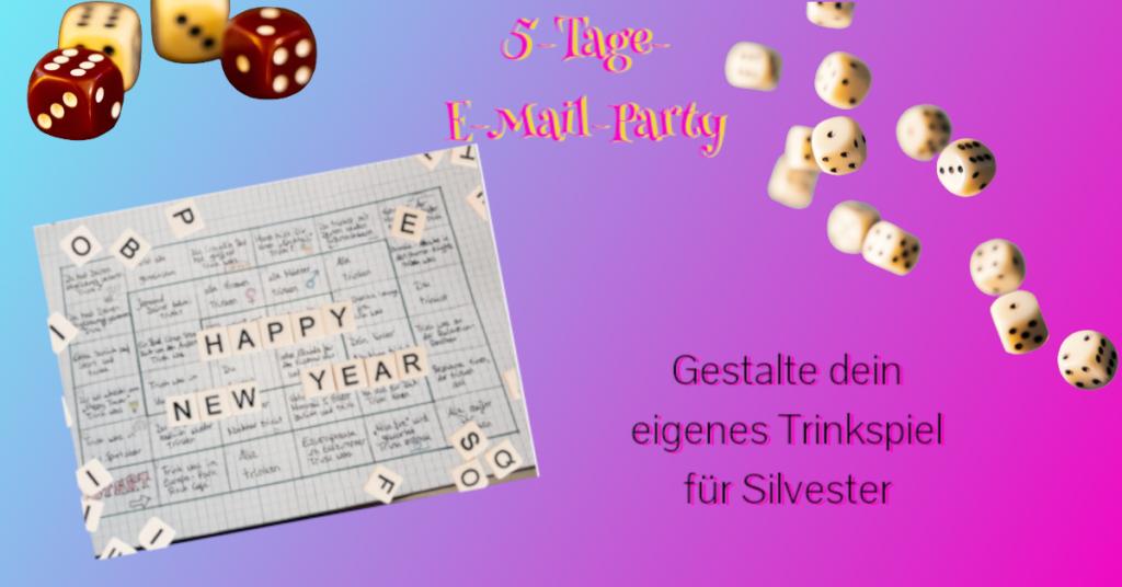 Partyspiel und Würfel